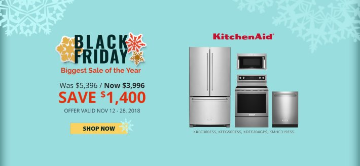 KitchenAid NECO Exclusive Black Friday 2018
