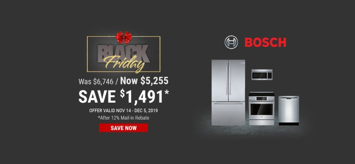 Bosch NEAEG Black Friday 2019