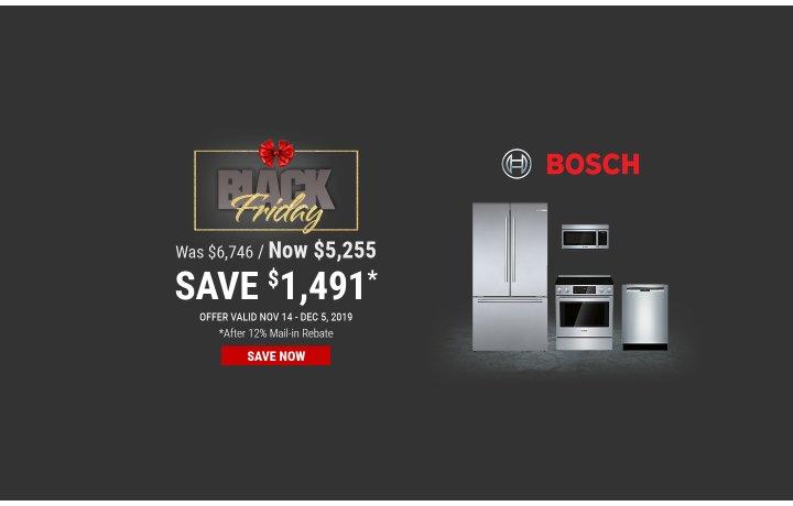 Bosch NEAEG Black Friday 2019