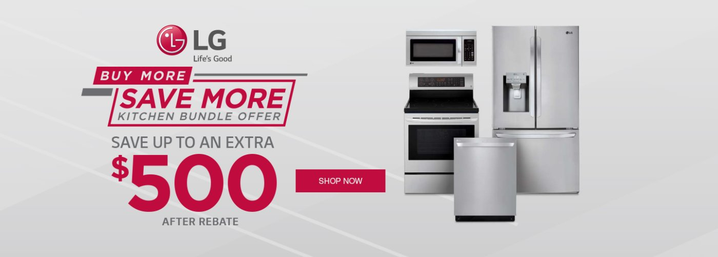 LG Buy More Save More August 2019