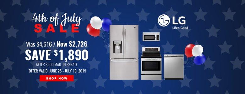 LG NEAEG July 4th 2019