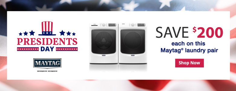 Maytag Presidents Day NEAEG Exclusive 2019
