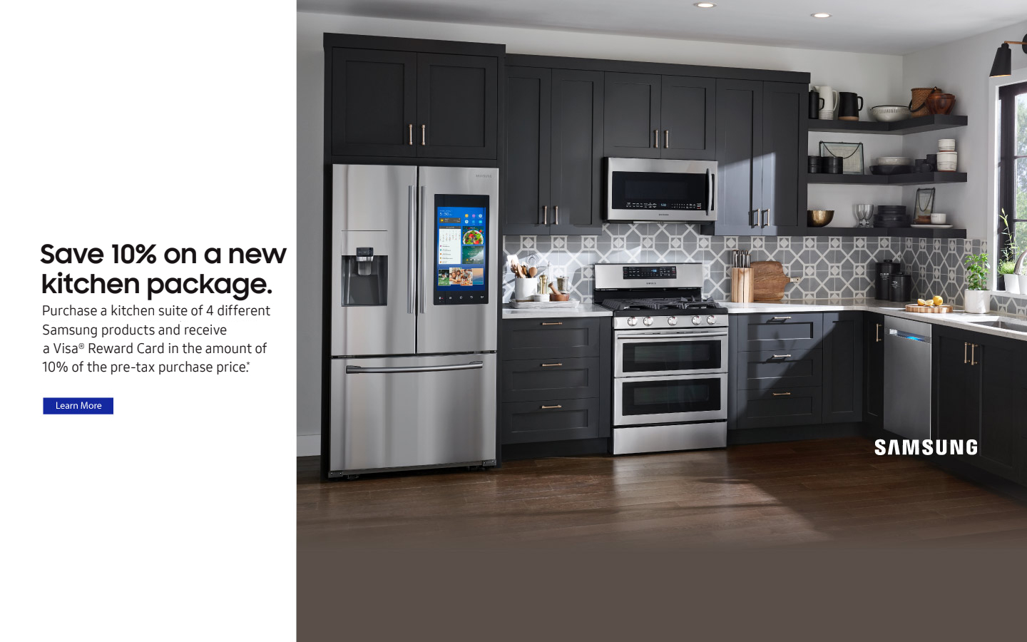 Samsung 10% Off Kitchen Package 2018 · Whirlpool Connected Appliances 2018