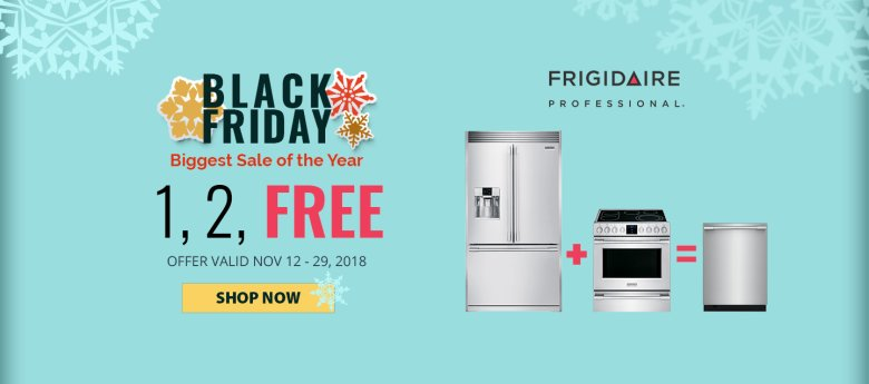 Frigidaire Pro NECO Exclusive Black Friday 2018