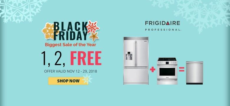 Frigidaire Pro NECO Exclusive Black Friday 2018