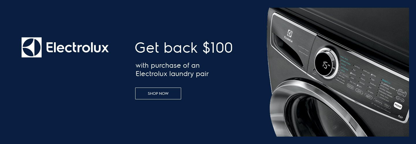Electrolux $100 Laundry Rebate Sept 2019