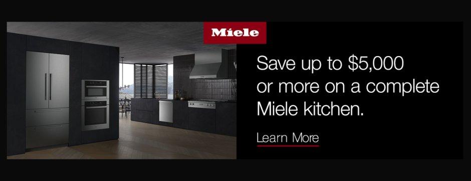 Miele Kitchen Package Jan 2019