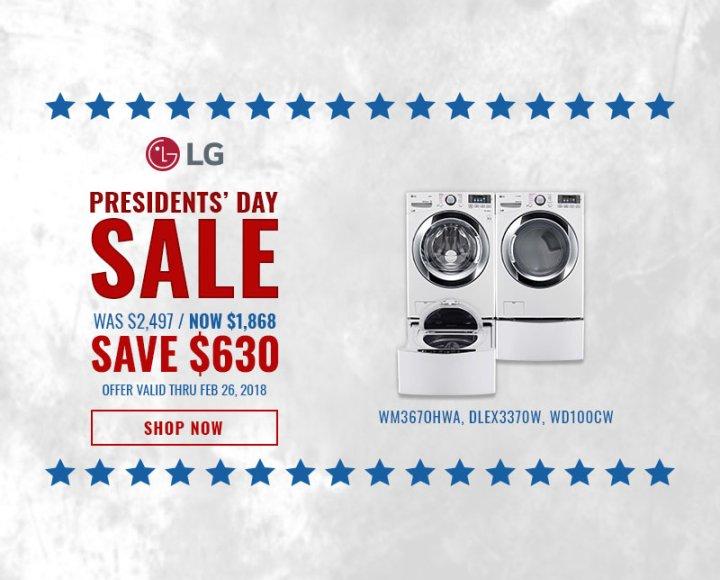 LG NECO Exclusive Presidents Day 2018