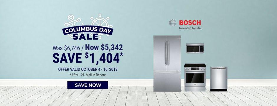 Bosch NEAEG Columbus Day 2019