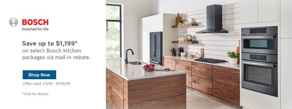 Bosch Kitchen Suite Rebate Q3 2019