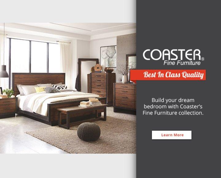 Coaster Brand Landing Page 2018
