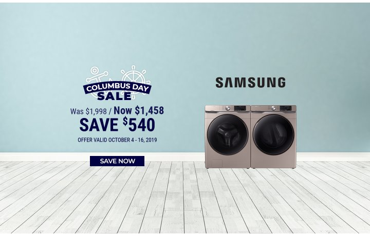Samsung NEAEG Columbus Day 2019