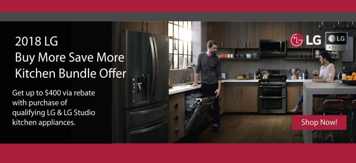 LG Buy More Save More July 2018
