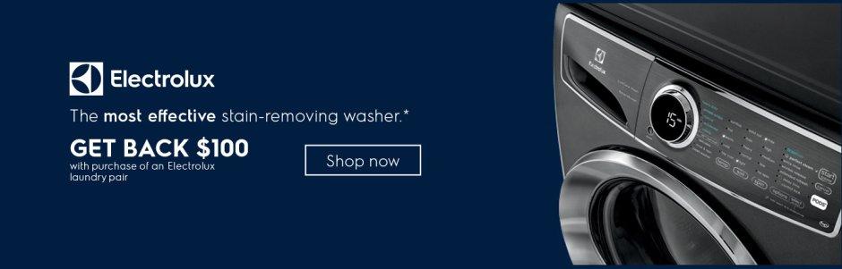 Electrolux $100 Laundry Rebate February 2019