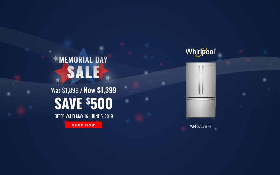 Whirlpool Memorial Day NEAEG Exclusive 2019