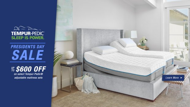 Tempur-Pedic Presidents Day 2018