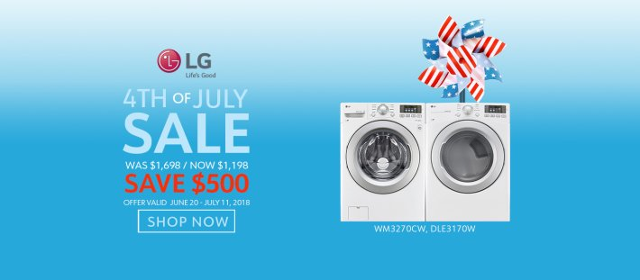 LG NECO Exclusive 4th of July 2018