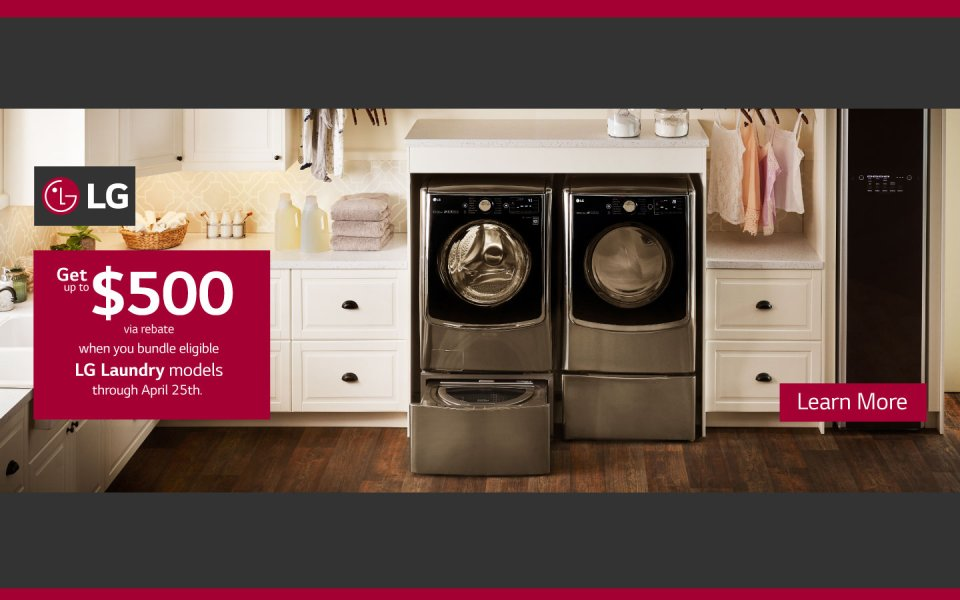 LG Ultimate Laundry Room 2018