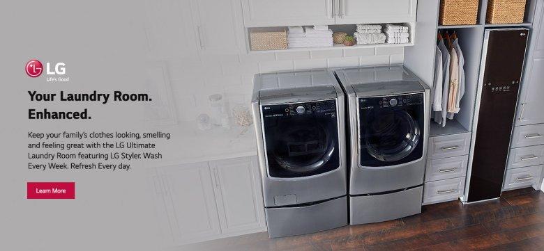LG Laundry Room Evergreen 2018