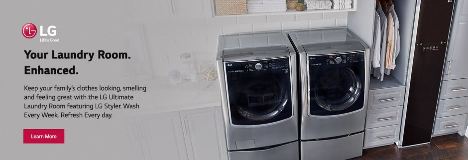 LG Laundry Room Evergreen 2018