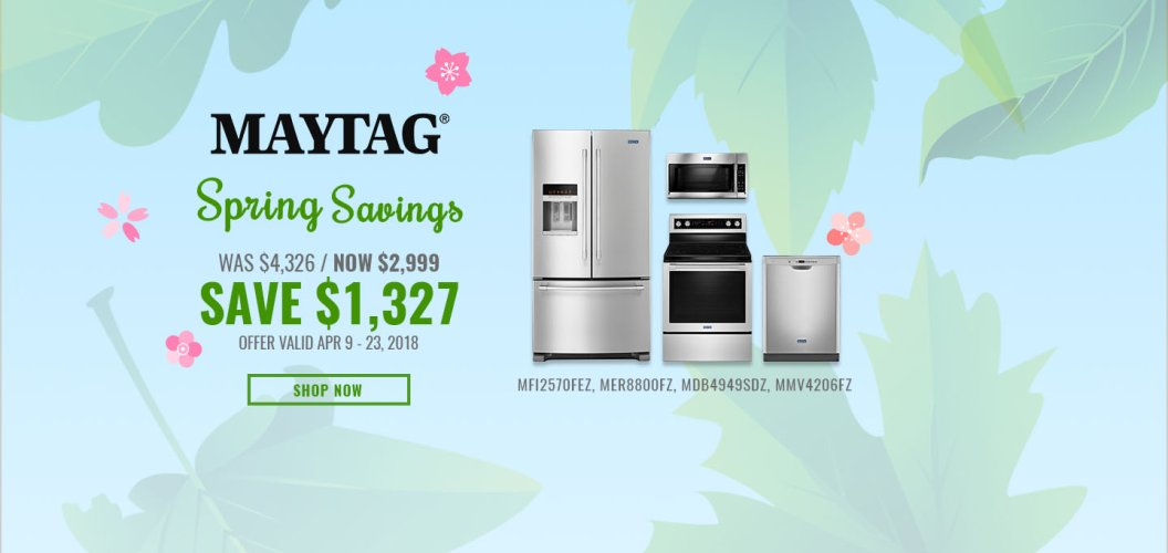 Maytag NECO Exclusive Earth Day 2018