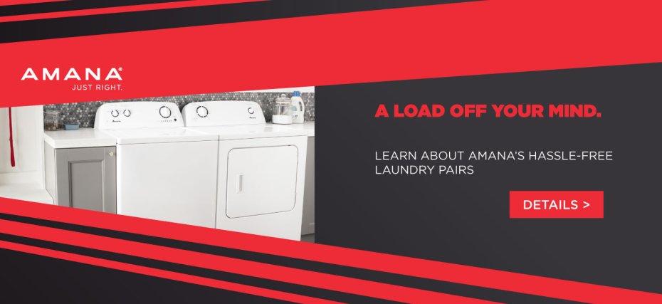 Amana Laundry Promotional Page 2017