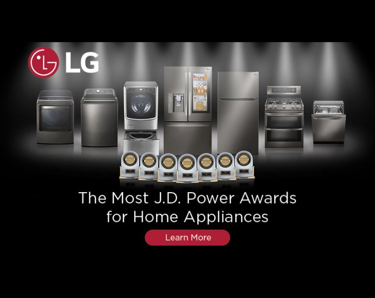 LG JD Power Awards 2017