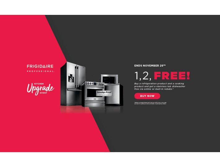Frigidaire Professional 1 2 Free October 2018