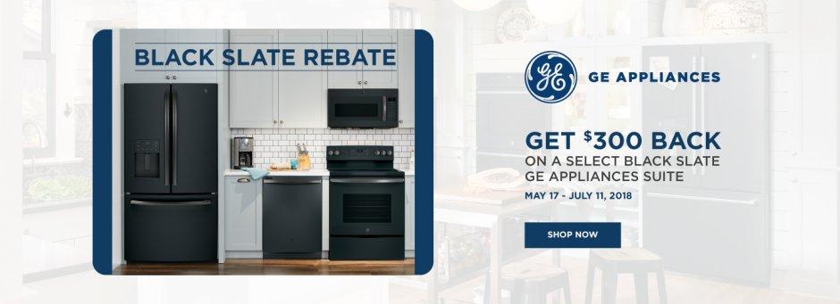 GE Black Slate May 2018