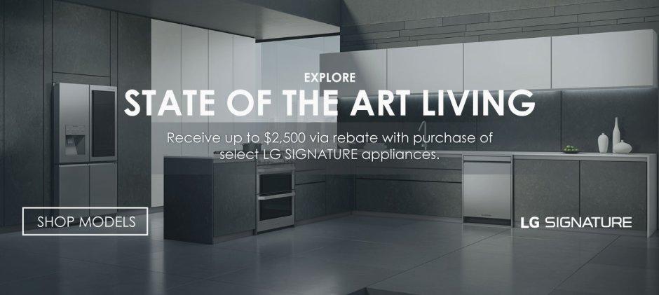 LG SIGNATURE Appliance Bundles July 2019