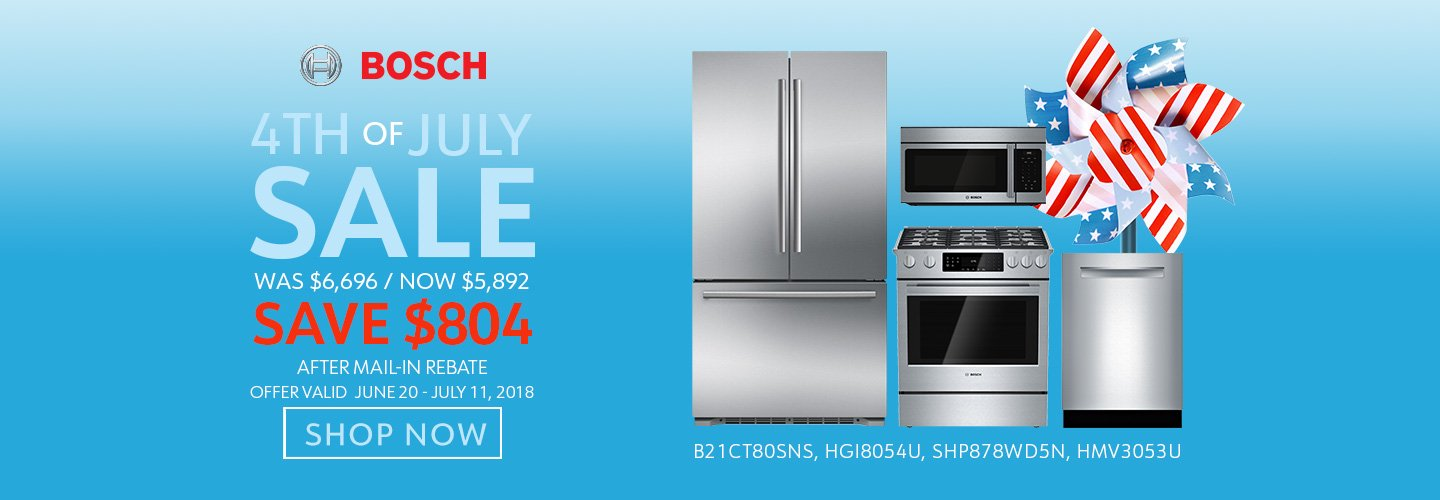 Bosch NECO Exclusive 4th of July 2018
