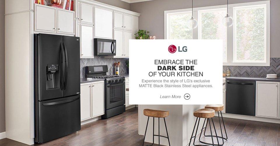 LG Discover Matte Black 2017