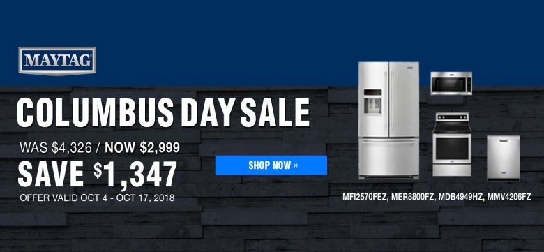 Maytag ADC & DMI Exclusive Columbus Day 2018