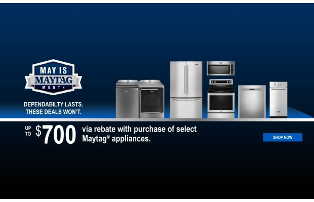 May is Maytag Month 2019