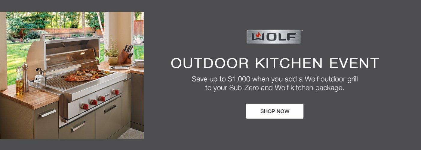 Wolf Sub-Zero Outdoor Kitchen Event 2019
