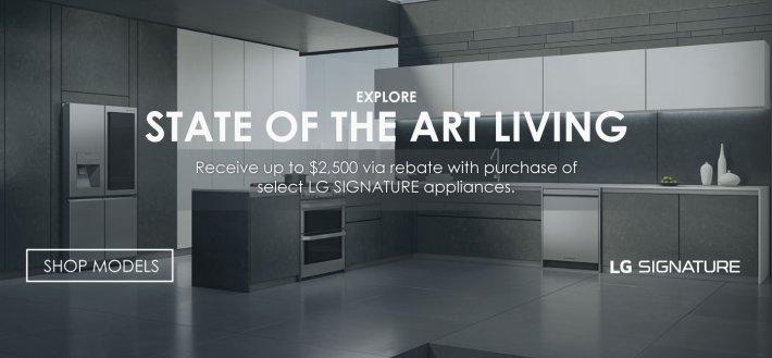 LG SIGNATURE Appliance Bundles Oct 2019