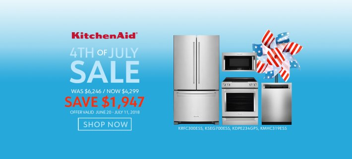 KitchenAid NECO Exclusive 4th of July 2018