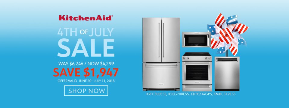 KitchenAid NECO Exclusive 4th of July 2018