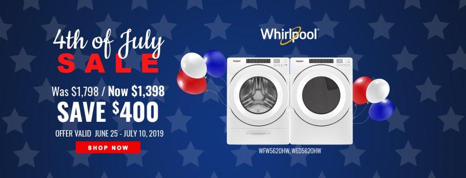 Whirlpool NEAEG July 4th 2019