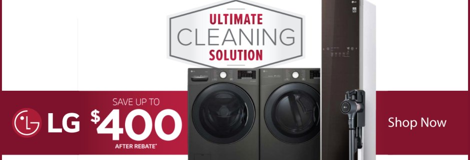 LG Ultimate Cleaning Solution 2019