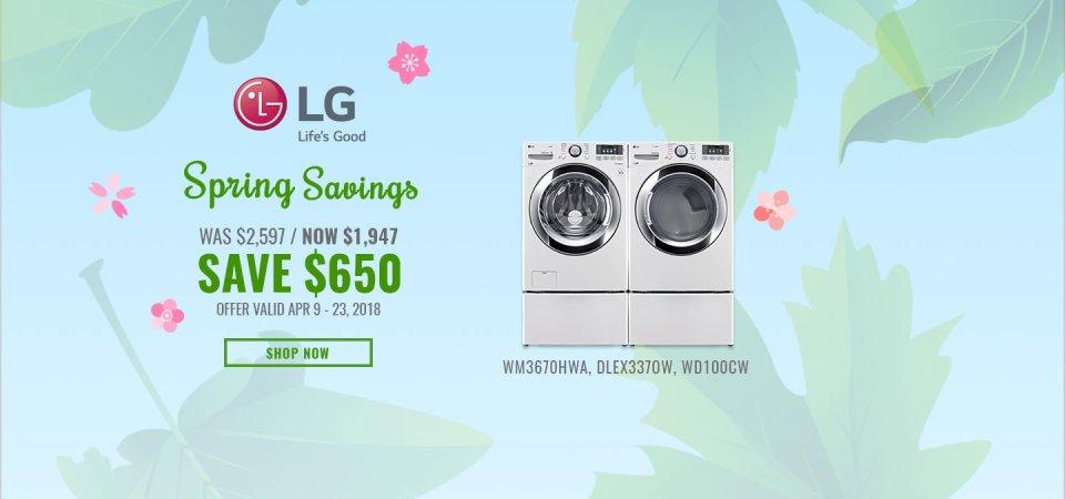 LG NECO Exclusive Earth Day 2018