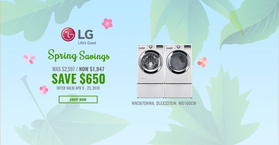 LG NECO Exclusive Earth Day 2018