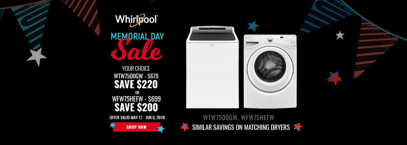 Major appliance sales and service in norwood westwood and dedham ma whirlpool neco exclusive memorial day 2018 solutioingenieria Image collections