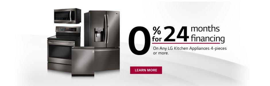 LG 0% Financing Program 2018