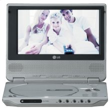 "7"" Wide Display Portable DVD Player"