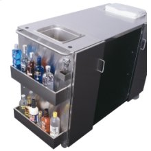 SUMMIT CartOSR7 is our all stainless steel serving cart.with our popular SPR7OS all stainless steel outdoor refrigerator