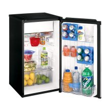Black-on-Black 4.3 Cu. Ft. Compact Refrigerator ENERGY STAR® Qualified