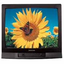 25in. Stereo TV with DVD component
