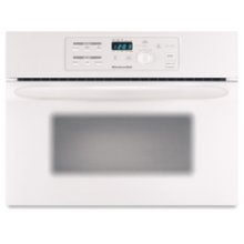 24 in. Built-In Microwave Oven Includes 27 in. & 30 in. Trim Kits(White)