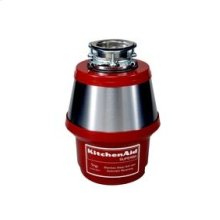 1 HP Motor 42 oz. Chamber Capacity Continuous Feed Disposer 2-Piece Stainless Steel Stopper High Polish Stainless Steel Sink Flange